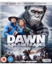 Dawn Of The Planet Of The Apes 4K (Blu Ray)