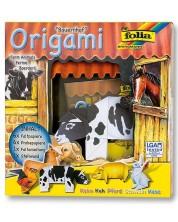 Творчески комплект за оригами Folia - Животински свят, ферма