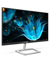 "Монитор Philips - 246E9QJAB, 23.8"" IPS, LED, 75 Hz, черен"