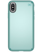 Калъф Speck Presidio Metallic - за iPhone X, бледозелен