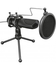 Микрофон Trust GXT 232 Mantis - черен