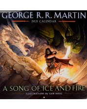 A Song of Ice and Fire 2021 Calendar -1