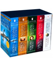 A Song of Ice and Fire: 5-Copy Boxed Set (Футляр с 5 книги с меки корици)