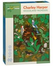 Пъзел Pomegranate от 1000 части - Чудеса в гората, Чарли Харпър -1