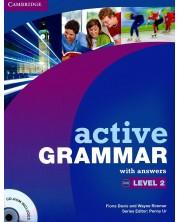 Active Grammar: Английска граматика - ниво 2 (с отговори + CD) -1