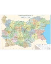 Административна карта на България (1:540 000)