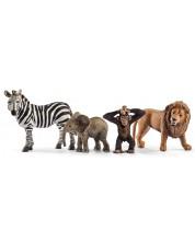Фигурка Schleich от серията Диви животни – Комплект диви животни