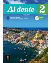 Al dente 2 · Nivel A2 Libro del alumno + Cuaderno de ejercicios + CD + DVD -1