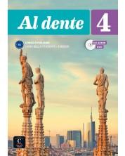 Al dente 4 B2 Libro dello studente, Esercizi, + CD + DVD -1