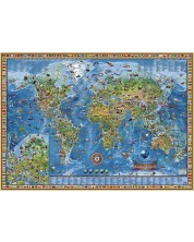 Пъзел Heye от 2000 части - Удивителен свят -1