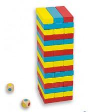 Балансна кула Дженга със зарчета Andreu toys -1