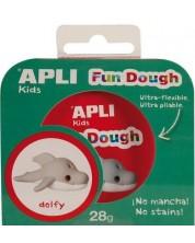 Вълшебно тесто APLI Kids за моделиране на делфинче Делфи