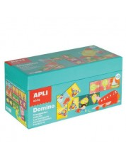 Образователно домино APLI Kids - Транспорт