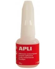 Секундно лепило Apli - 10 gr, с четка
