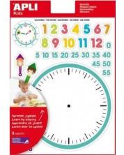 Обучителни стикери APLI - Часовникът -1