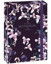 Кутия с ластик Ars Una Botanic Orchid А4 -1