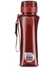 Бутилка за вода Ars Una - Червена, 500 ml -1