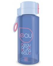 Бутилка за вода Ars Una - Синьо-розова, 650 ml -1