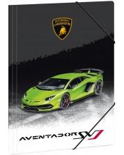Папка с ластик Ars Una Lamborghini - А4 -1