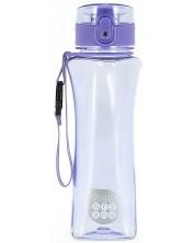 Бутилка за вода Ars Una - Светлолилава, 500 ml -1