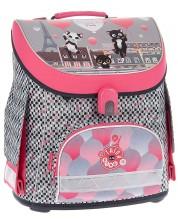 Ученическа раница Ars Una Think Pink - Compact -1