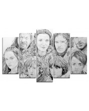 Арт панел - Game of Thrones - The Starks -1