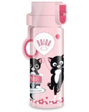 Детска бутилка Ars Una Think Pink - 475 ml -1