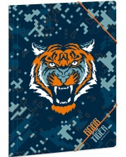 Папка с ластик Ars Una Roar of the Tiger - А4 -1
