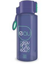 Бутилка за вода Ars Una - Лилава, 650 ml -1