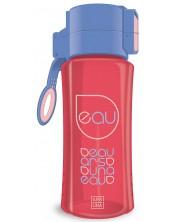 Бутилка за вода Ars Una - Червено-синя, 450 ml -1