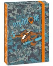 Кутия с ластик Ars Una My Drone А4 -1