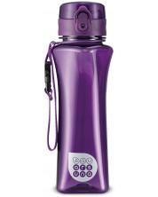 Бутилка за вода Ars Una - Лилава, 500 ml -1