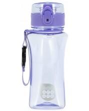 Бутилка за вода Ars Una - Светлолилав, 350 ml -1