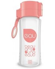 Бутилка за вода Ars Una - Бледорозова, 450 ml -1