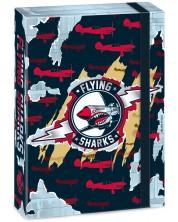 Кутия с ластик Ars Una Flying Sharks А4 -1