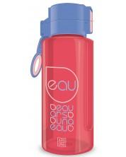 Бутилка за вода Ars Una - Червено-синя, 650 ml -1