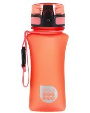 Бутилка за вода Ars Una - Оранжев мат, 350 ml -1