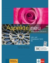 Aspekte neu B2 Lehr-und Arbeitsbuch Teil 2 mit CD