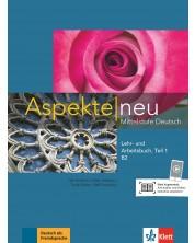 Aspekte neu B2 Lehr-und Arbeitsbuch Teil 1 mit CD -1