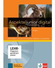Aspekte junior B1 plus Lehrwerk digital mit interaktiven Tafelbildern -1