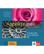 Aspekte neu B2 Audio-CDs (3) zum Lehrbuch -1