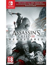 Assassin's Creed III Remastered + All Solo DLC & Assassin's Creed Liberation (Nintendo Switch) -1