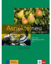 Aspekte Neu C1: Lehr-und Arbeitsbuch Teil 2 + CD / Немски език - ниво С1: Учебник и учебна тетрадка + CD (част 2) -1