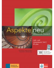 Aspekte neu B1 plus Lehr-und Arbeitsbuch Teil 2 mit CD -1