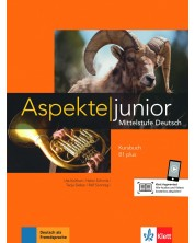 Aspekte junior B1 plus Kursbuch mit Audios zum Download