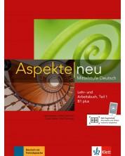 Aspekte neu B1 plus Lehr-und Arbeitsbuch Teil 1 mit CD -1