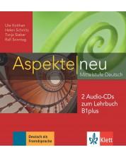 Aspekte neu B1+ Audio-CDs (2) zum Lehrbuch (2 аудио CD-та към учебника) -1