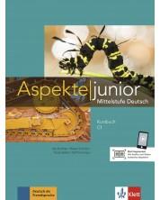 Aspekte junior C1 Kursbuch mit Audios zum Download -1