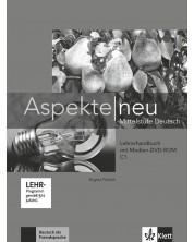 Aspekte Neu C1: Lehrerhandbuch + DVD-ROM / Немски език - ниво С1: Книга за учителя + DVD-ROM -1
