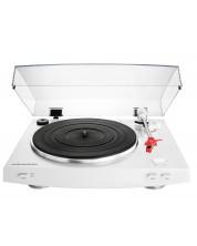 Грамофон Audio-Technica - AT-LP3WH, автоматичен, бял -1
